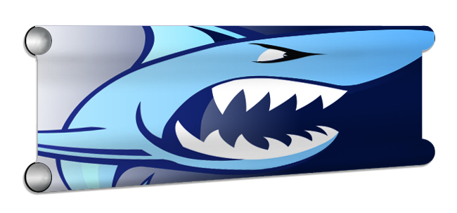 SharksTeeth Showjump Banner Filler