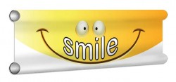 Smile Showjump Banner Filler
