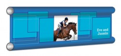 Squares Personalised Showjump Banner Filler