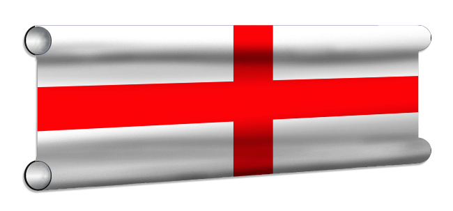 England Flag Showjump Banner Filler
