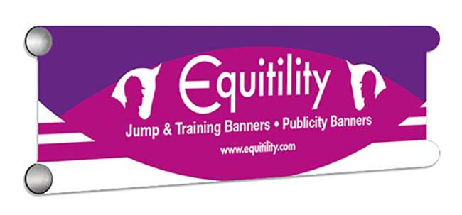 Equitility Showjump Banner Filler