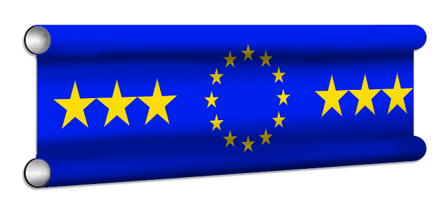 EU Flag Showjump Banner Filler