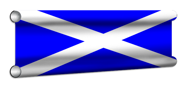 Scottish Flag Showjump Banner Filler