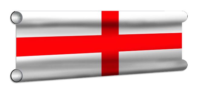 England Flag Showjump Banner Filler