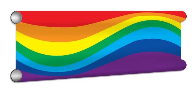 RainbowWave Showjump Banner Filler