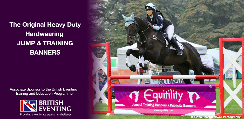 equine jump and training banners